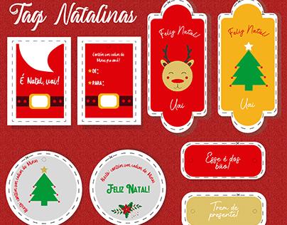 Ilustração Cartões de Natal