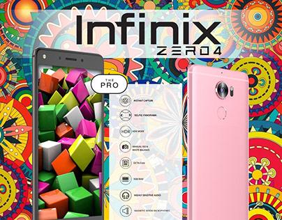 Infinix Zero 4 Promotions