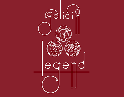 Galician Legends Part I. Illustration.