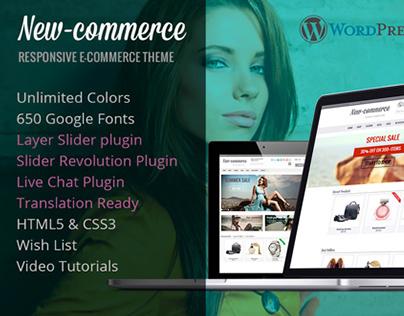New-commerce WordPress theme