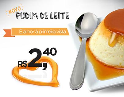 Griletto - Pudim de leite