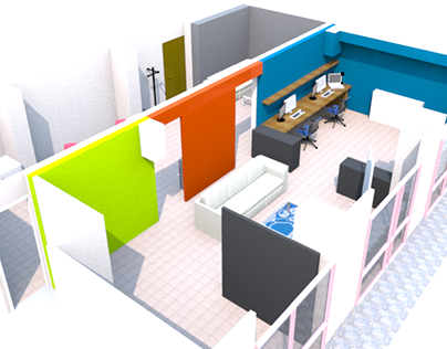 New Office in Bursa - 2d,3d to RealWorld