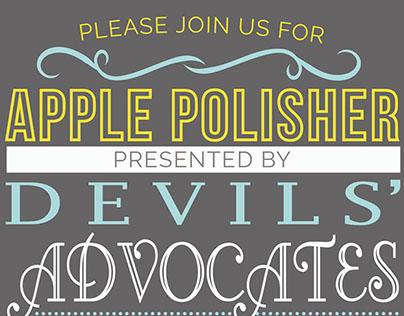 "ASU Devils' Advocates ""Apple Polisher"" Invitation"