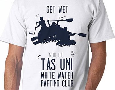 Tas Uni Rafting tshirt