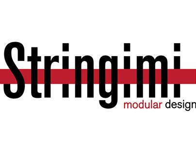 Logo Stringimi modular design