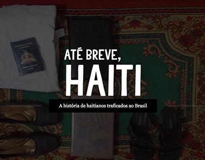 Webdocumentário: Até breve, Haiti