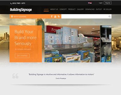 Website for BuildingSignage
