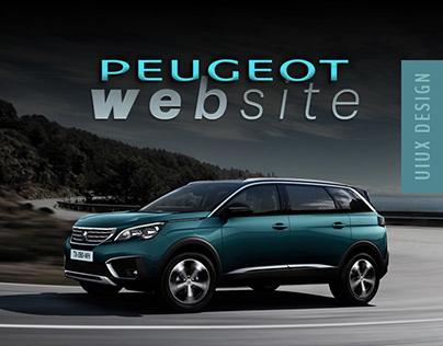 Peugeot Website Redesign -Draft / Ghost