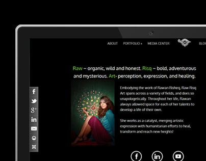 Rawrisk | Art Website