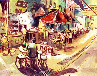 Hong Kong Sketches