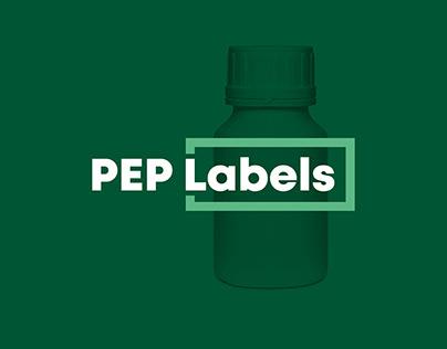 PEP Labels AG Branding