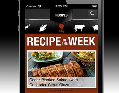 Weber Grills iPhone App