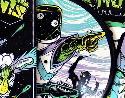 Laser Mutants – THIRTEEN LP