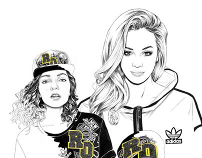 Adidas Originals x Rita Ora