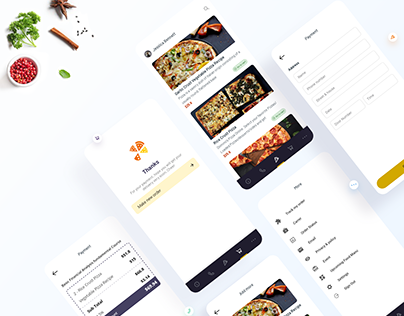 Pizza Lover Restaurant UX Process I Case Study