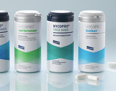 Packaging for NYCOPRO® by Nycomed