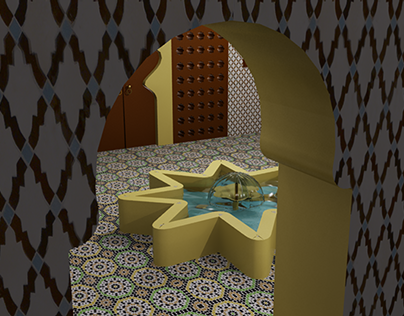 Riad artisanat marocain