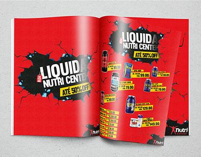 Liquida Nutri Center (Produção Gráfica e Redes Sociais)