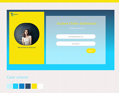 Website Prototype - Student Online Submission