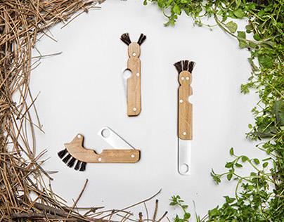 Mushroom knifes for kids