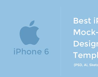 60+ Free iPhone 6 Mockup Templates
