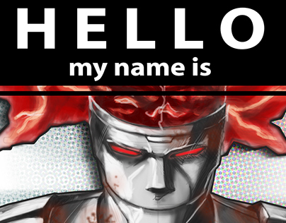 Hello My Name Is Rusty Joints (Sticker)