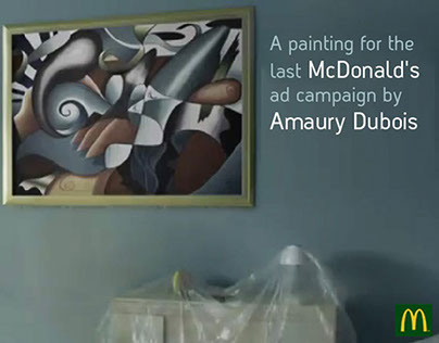A PAINTING FOR THE LAST MCDONALD'S AD CAMPAIGN BY AMAUR