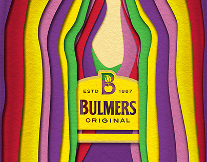 Bulmers Animated Outdoor Poster - 'Live Colourful'