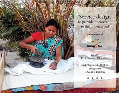 Service design to provide micro credit part 2