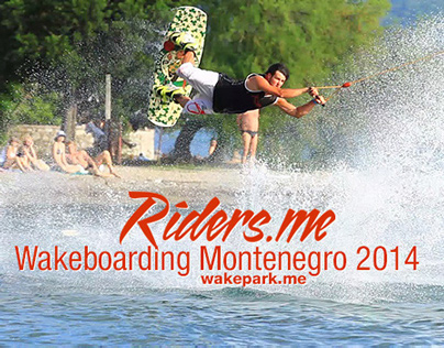 Wakeboarding Montenegro 2014 HD