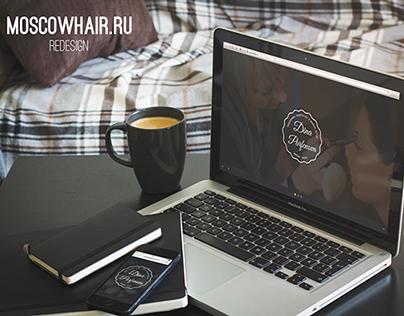 MOSCOWHAIR.RU Redesign