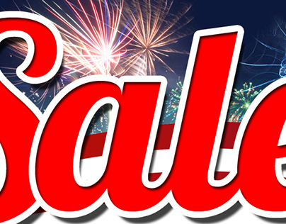 4th Of July Sale Header - MIA Store