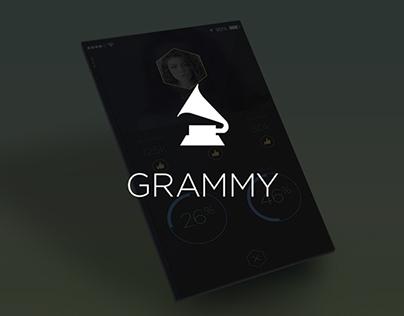 Grammy's Viewers Choice (concept design)