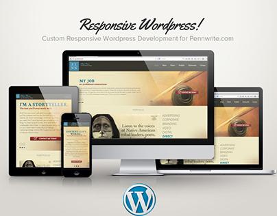 Pennwrite.com Responsive Wordpress development