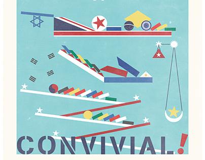 Cultural Typhoon 2014『Convivial!』
