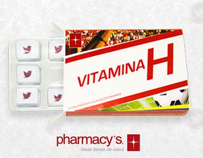 "Caso ""Vitamina H"" - Farmacias Pharmacy's"