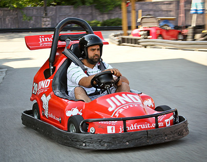 Jind Fruit Co. Branded Go Kart