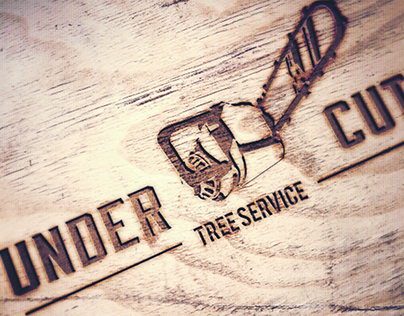 Under Cut Tree Service Logo
