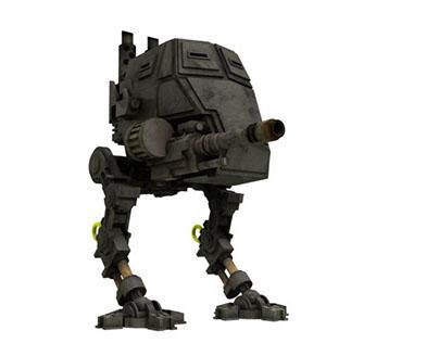 3D Model - Sentinel WH 40k