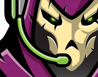 KHBR Gamers Logo & Branding Concept Design