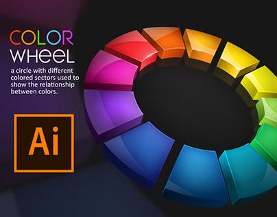 Color Wheel Effect in Adobe Illustrator