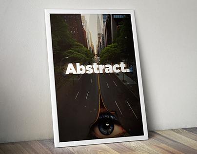 Abstract wallpaper / Poster