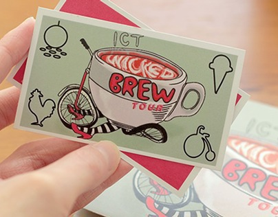 ICT Wicked Brew Tour: Map & Punch-card