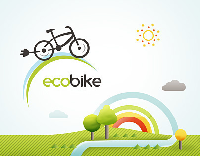 EcoBike - website & branding