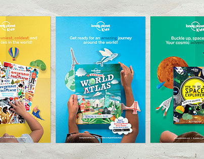 Lonely Planet Kids website and brand launch
