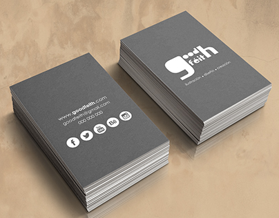 Goodféith. Diseño corporativo