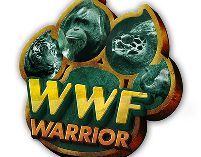 WWF Warrior Logo