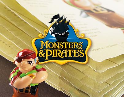 Kinder SURPRISE - Monsters & Pirates