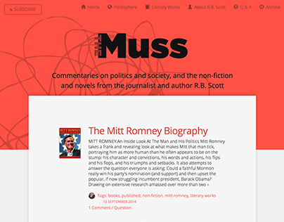 The Muss Blog & Website