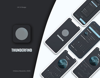 Lightning search iOS App Concept